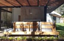 Modern Wood Outdoor Furniture