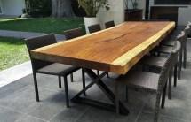 Parota Wood Outdoor Furniture High-quality Modern Design