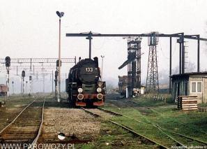 Ty51-133 na stacji Pyskowice Kotlarnia około 1990-1991roku. Fot.: Krzysztof Jakubina ze zbiorów Jacka Chiżyńskiego
