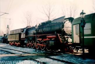 Ty51-137 jeszcze pod parą (manewry w Skansenie). Fot.: Michał Legutko