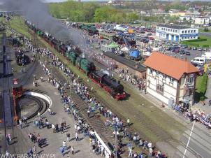 Parada parowozów Wolsztyn'2005. Fot.: Wojciech Lis.