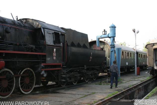 Wodowanie Ty2-911. 28.05.2005. Fot.: Miłosz Mazurek.