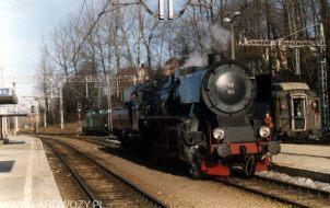Ty2-953 manewruje na stacji Zakopane. Fot.: Miłosz Mazurek
