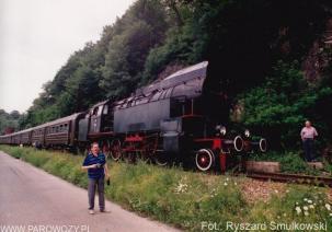 OKz32-2 pomiędzy Stróżami a Muszyną. 27.06.1992. Fot.: Ryszard Smulkowski.