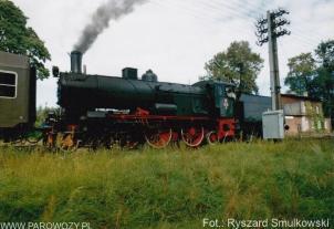 Ol12-7 jazda próbna po odbudowie. 28.08.1993. Fot.: Ryszard Smulkowski.
