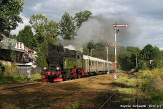 Pociąg retro uruchomiony z okazji Parowozjady'2010. Fot.: Szymon Jurkowski.