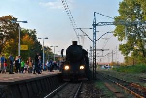"""Ty42-107 podczas jubileuszu """"Wiedenki"""". Fot.: Artur Szymański"""