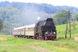 OKz32-2 z pociągiem Chabówka-Kasina Wielka. 21.08.2016. Fot.: Miłosz Mazurek.