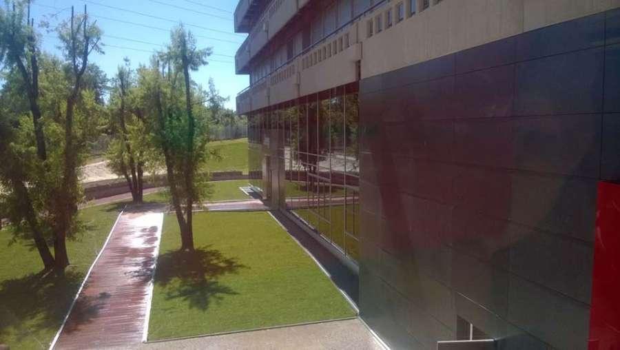 Bologna  nuova sede Unipol  Parquet Decking Rimini