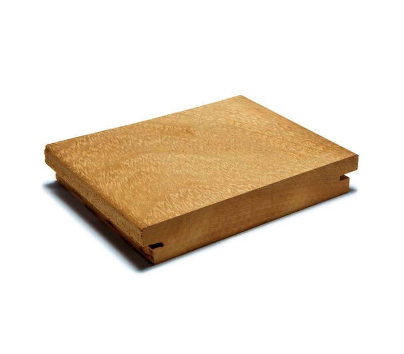 Tarima exterior Topfloor de madera de Iroko americano