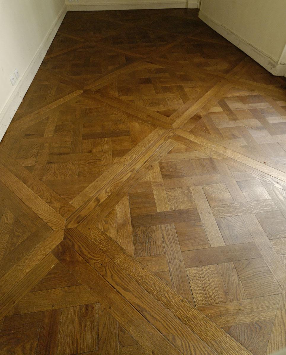 Solid oak parquet floor Versailles  Parquets de Tradition