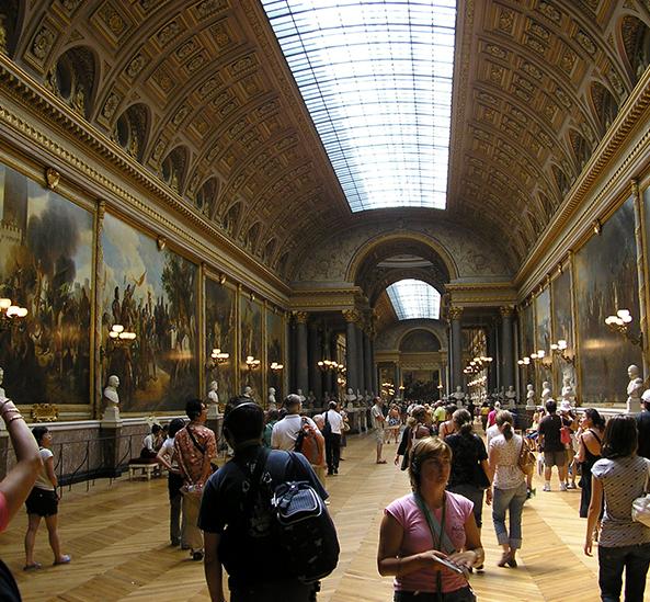 Réalisations Parquets Janod : Salle des Batailles du Château de Versailles