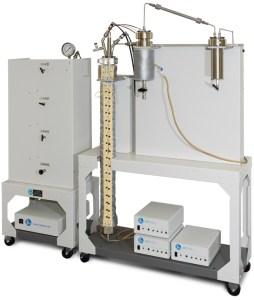 Fluidized Bed Tubular Reactor with flexible heater on