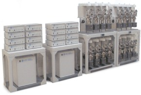Sixteen Station Multi-Reactor System with 4871 Process Controller