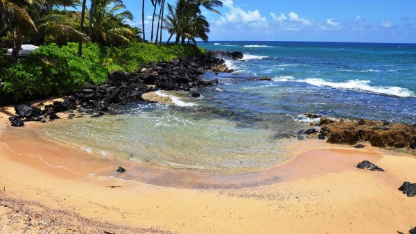 Keiki Cove - Favorite Poipu Beach Kids Kauai