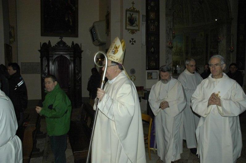 Anniversario della Casa della Carità di Cognento - Il Vescovo Antonio Lanfranchi