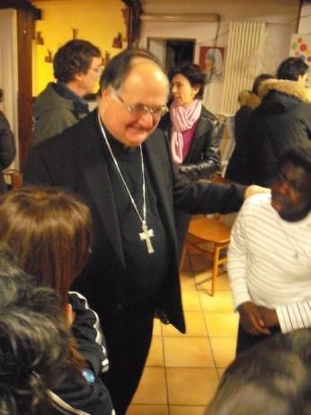 Famiglie del Gelso e Vescovo Lanfranchi alla Casa della Carità di Cognento - 03