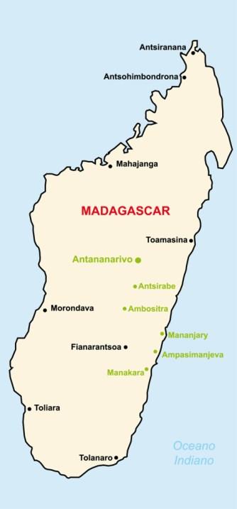 Case della Carità in Madagascar