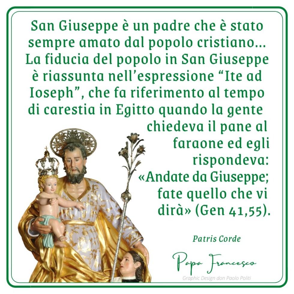 Quinto giorno del settenario di San Giuseppe