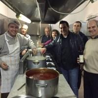 Fotoracconto della Cena di Santa Scolastica (10/02/2016)