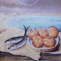 Gesù moltiplica i pani e i pesci