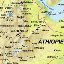 Piantina dell'Etiopia