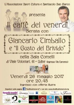 Locandina Giancarlo timballo 26.05.2017