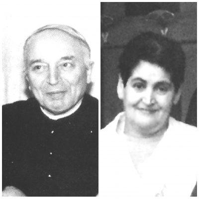 mons. Leandro Comelli e sig.ra Rosa Cipriani