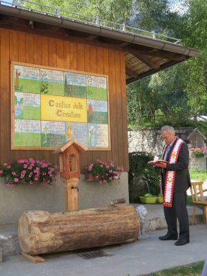 Pierabech 2017 - benedizione fontana
