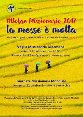 Locandina mese missionario