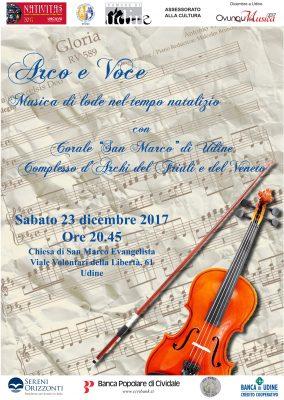 Arco e voce - Corale San Marco 23/12/2017