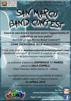 San Marco Band Contest 2018