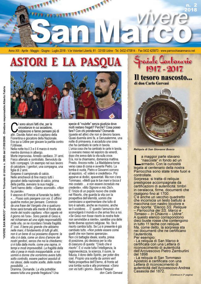 Vivere San Marco n. 2/2018