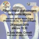 I funghi fimicoli e allucinogeni nella nostra regione