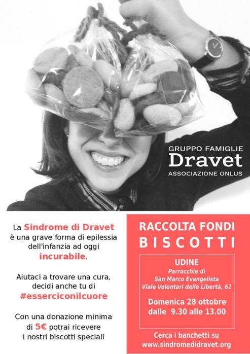 Raccolta fondi per sindrome di Dravet