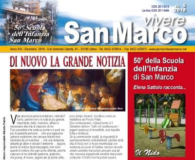 Vivere San Marco n. 5 2018 - testata