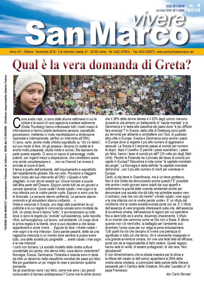 Vivere San Marco n. 4/2019 p.1