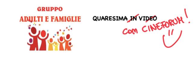 logo Cineforum Gruppo adulti e famiglie