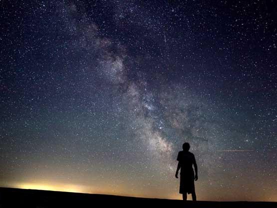 Il Bello? Avere per tetto un cielo di stelle…