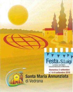 Read more about the article Festa di San Luigi a Vedrana – 2, 7, 8, 9 settembre