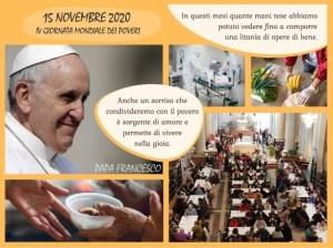 Domenica 15.11.2020 – IV Giornata Mondiali dei Poveri