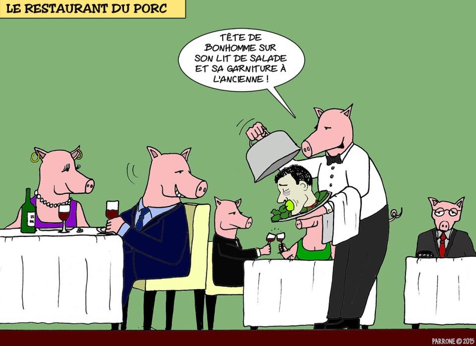 Le restaurant du porc