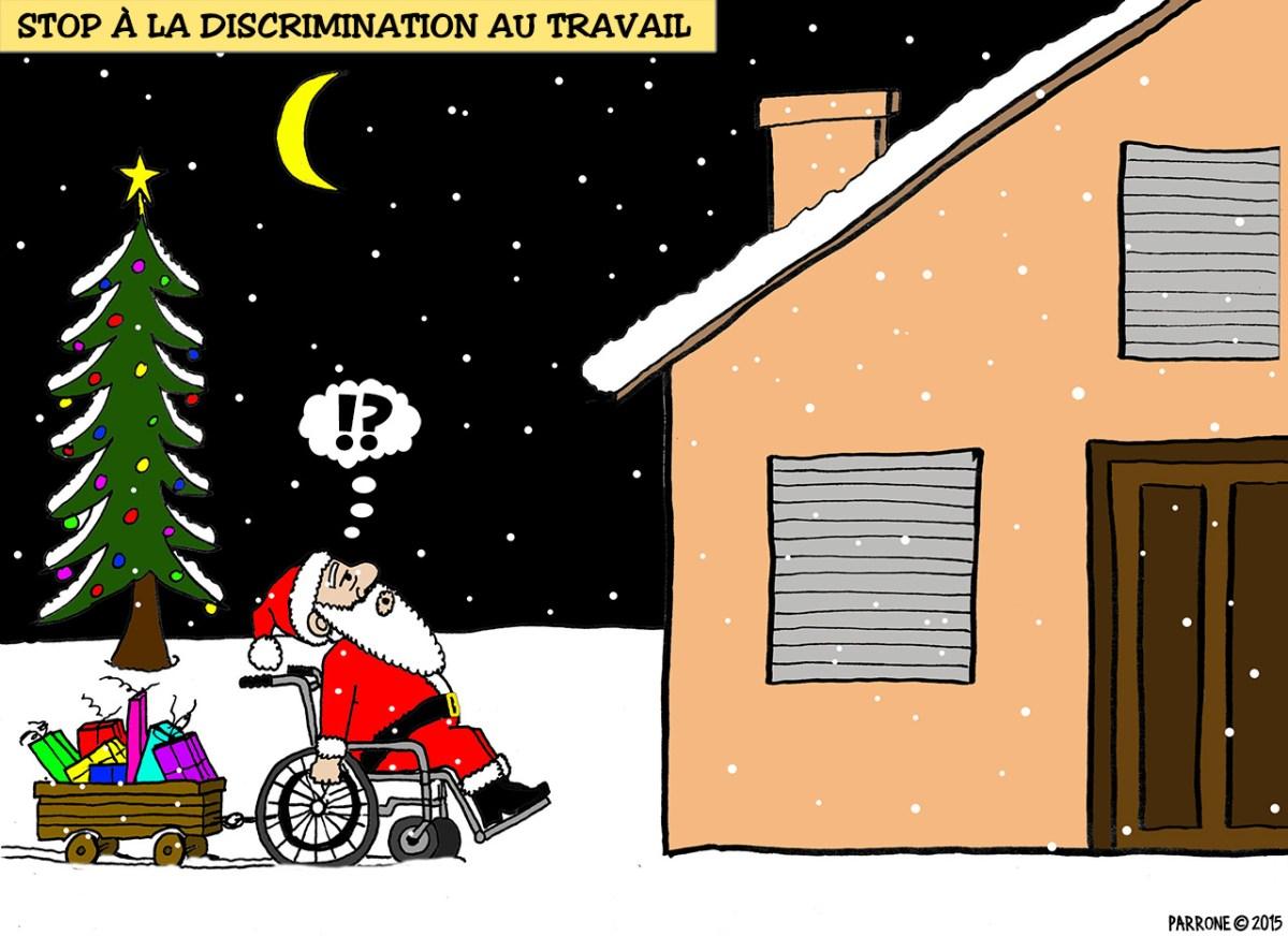 Stop à la discrimination au travail