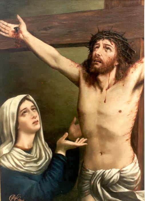"""Resultado de imagen de la Madre que estaba """"al pie de la cruz"""","""