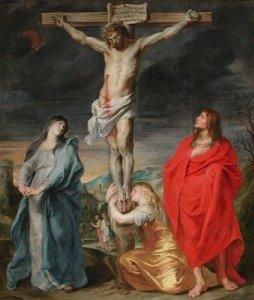 Virgen María.3.Al pié de la Cruz