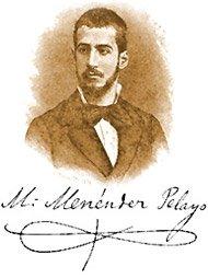 Marcelino Menéndez y Pelayo (1856-1912).