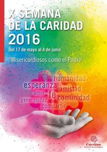 Cáritas.2016.Cartel.Semana Caridad