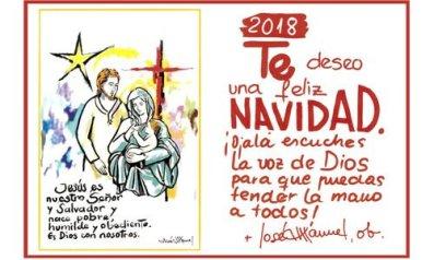 Felicitación Navidad Obispo.2018.1