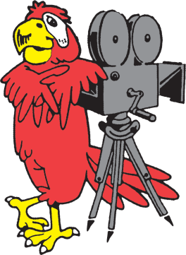 An original Parrot Film logo
