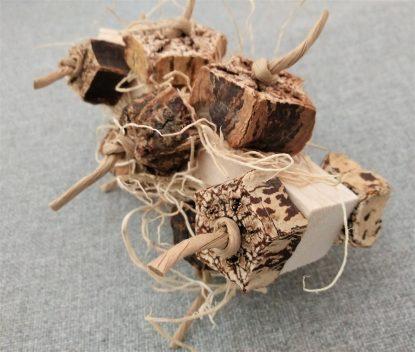 balsa wood bird toy